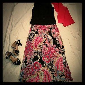 Bobbie Brooks Maxi skirt
